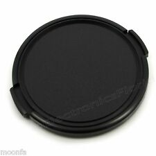 77mm snap on Front Lens Cap protector Cover for camera  Canon Nikon Sony -e158