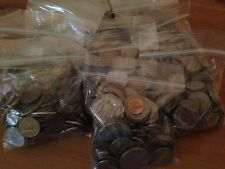 Bulk Lot of 100 Assorted World Foreign Coins