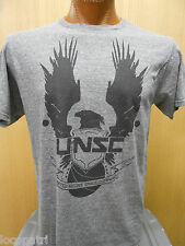 Mens Licensed Halo UNSC United Nations Space Command Triblend Shirt New L