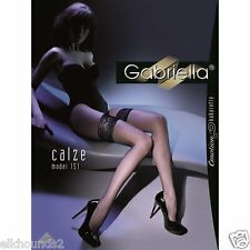 Gabriella FISHNETS Hold Ups & Tights SEAMED/non Large/Small Eyelets many COLOURS