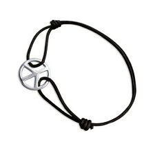 Bracelet Peace & Love en Argent 925 - BigBang-Bijoux.com - Bijouterie en ligne