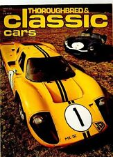 THOROUGHBRED & CLASSIC CARS MAGAZINE - June 1978
