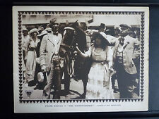 1916 THE THOROUGHBRED - VG+ CONDITION LOBBY CARD - SILENT - HORSERACING VINTAGE