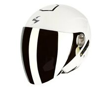 VISIERA CASCO MOTO SCORPION EXO 210 AIR FUME' SCURO DARK SMOKE