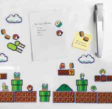 Super Mario Bros Magnet Set of 80, Refrigerator Washer Freezer Retro Video Game