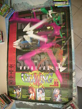 GIGAWING GIGA WING CAPCOM SHOOT CPS2 ARCADE B1 SIZE OFFICIAL POSTER!