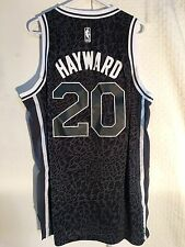 Adidas Swingman NBA Jersey Utah Jazz Gordon Hayward Black Lim Edit sz XL