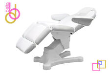 VERSA ALLWHITE FULLY ELECTRIC FACIAL BED CHAIR SALONS MEDI-SPAS BEAUTY EQUIPMENT