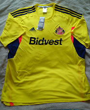 "SUNDERLAND Away Football/Soccer Shirt/Jersey/Top Size XXL 50""-52"" 2XL BNWT NEW"