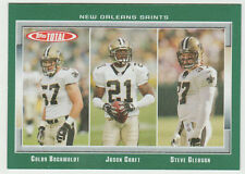 STEVE GLEASON Saints 2006 Topps Total #106 Rookie Card RC Saints HIS ONLY CARD