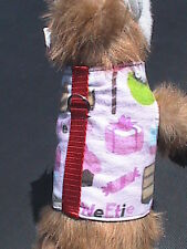 Small Animal Harness - Sweet Treats - Dog, Cat, Monkey