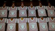 Lot of 5 NFL PINK Oakland Raiders beer bottle  Koozies New  FREE SHIPPING