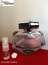 Gucci Bamboo Eau de Parfum for Her 2 ml Glass Spray Sample