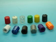"""10 x Effects Pedal Control Knob 16mmDx13mmH for 1/4"""" Shaft-Various Colors"""