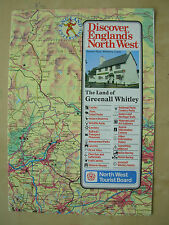 VINTAGE 1986 NORTH WEST TOURIST BOARD HOLIDAY BROCHURE MAP & GUIDE BLACKPOOL ETC