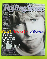 ROLLING STONE USA MAGAZINE 897/2002 Kurt Cobain Moby Elvis Costello  No cd