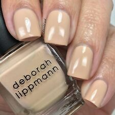 NEW! Deborah Lippmann SHIFTING SANDS Polish Lacquer full size Light Khaki Creme