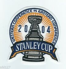 2004 NHL Stanley Cup Final Logo OFFICIAL Jersey Patch Calgary Flames