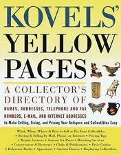 Kovels' Yellow Pages by Ralph Kovel, Terry Kovel (1999 First Edition)