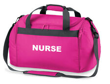 NURSE Pink Holdall/Work Bag for Paramedic First Responder St John 2 Free Pens