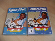 DVD Man spricht Deutsh - Gerhard Polt Gisela Schneeberger - 80s Kult Satire