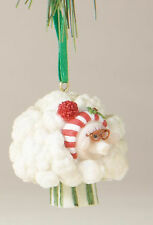 Home Grown Cauliflower Sheep Ornament Nutrition Facts Christmas Ornaments