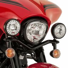 YAMAHA V-STAR 1300 MIDNIGHT BLACK LED PASSING LAMPS & MOUNTS