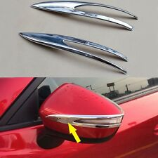 Chrome Side Rear Mirror Moulding Trims Fit For Mazda CX-3 CX3 2016 2017