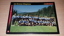 CARD GOLD 1993 LAZIO SQUADRA CALCIO FOOTBALL SOCCER ALBUM