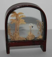 Vintage Japanese Cork Art Diorama Suitable For The Vintage Dolls House #3