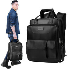 Men's Women Vintage Backpack School Bag Travel Satchel Loras Laptop Bag Rucksack