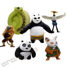 McDonald's 2011 KUNG-FU PANDA 2 Happy Meal 6 -piece toy lot