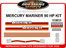 MERCURY MARINER 90 hp DECALS  reproductions 100 hp