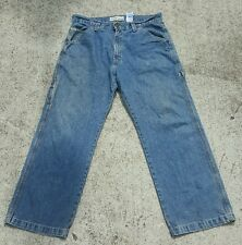 Levi Strauss Signature Workwear Men's Carpenter Jeans Cargo Size 34 x 29