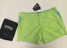 New w Tags & Bag Authentic Vilebrequin Mebico Light Green Swim Trunks - Men S