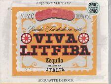 LITFIBA VIVA LITFIBA DOPPIA MC K7 MUSICASSETTA SIGILLATA!!!