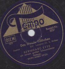 Ralph Maria Siegel  singt : Das blonde Kätchen - Orchester  Bernhard Ette