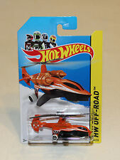 2014 Hot Wheels HW Off Road Stunt Circuit #102 Sky Knife Orange New