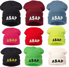 Winter Knitted ASAP BEANIE HAT CAP BAD HAIR HATS WOOLLY SNAP BACK 1994 NY CAP
