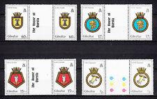 103432/ Gibraltar 1982 - Mi 447/50 ZS - Schiffswappen - ** - M€ 10,00+