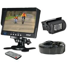 PYLE PLCMTR71 Weatherproof Backup Camera System with 7?? LCD Color Monitor & IR