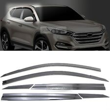 Smoke Window Sun Vent Visor Rain Guards 6P D054 For HYUNDAI 2016-2017 Tucson TL