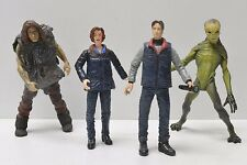 McFarlane X-FILES Scully Mulder Arctic Alien Caveman Action Figures great shape