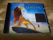 THE LION KING CD CIRCLE OF LIFE HAKUNA MATATA DISNEY ZIMMER TIM RICE ELTON JOHN