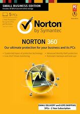 Norton 360 5PC 1 Year - Email Delivery and USPS Delivery