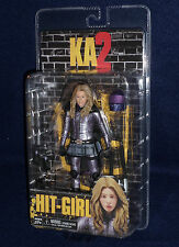 "Kick Ass 2 Movie Series 2 HIT GIRL (UNMASKED) 7"" Scale Action Figure NECA"