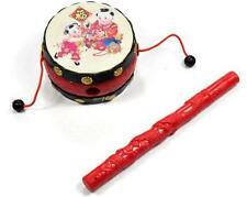 Chinese Japanese Traditional Rattle Drums Classic Toys Noise Maker Baby Toys