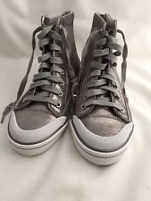 NWOT Limited Edition Vintage Coach Fitma Zippered Size 8.5 Hi Top Sneakers