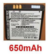 Battery 650mAh type AB553446BE AB553446BECSTD For SAMSUNG SGH-A401