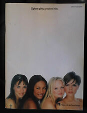 Book- Spice Girls Greatest Hits Piano Vocal Guitar Song book Hal Leonard 2008
